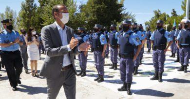 La policía neuquina sumó 143 agentes