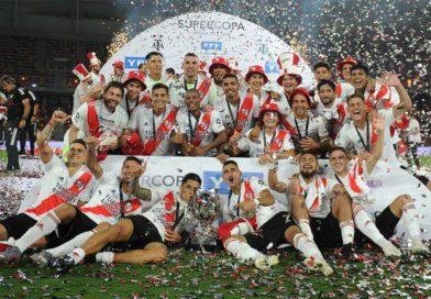 River goleó 5 a 0 a Racing y es el campeón de la Supercopa